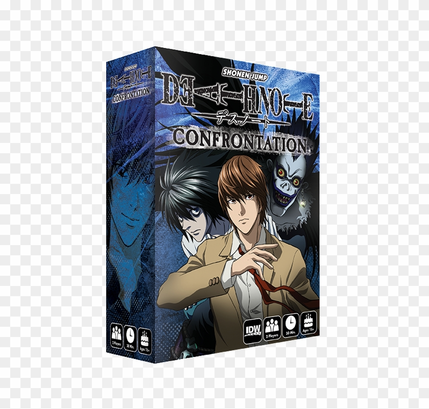 Idw Games Are Also Making Death Note - Death Note Confrontation Game Clipart #3109284