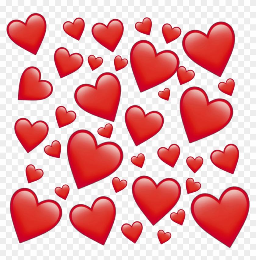 Emoji Emojis Tumblr Instagram Insta Aesthetic Mood - Effect Hearts Clipart #3111158