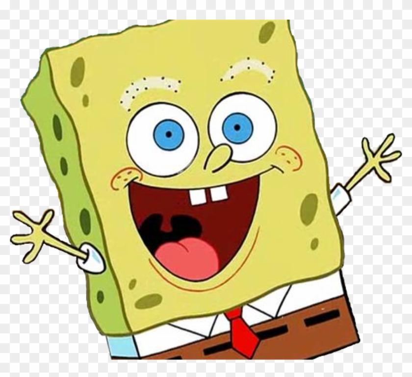 Spongebob Licking Meme Clipart With A Transparent Background