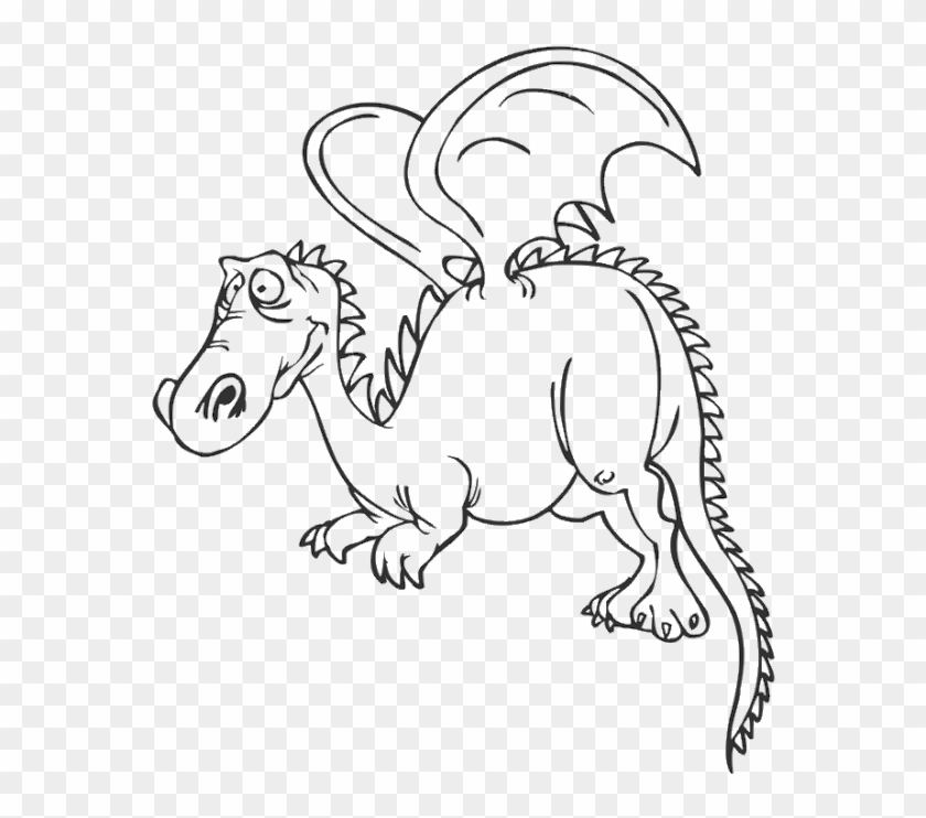 Dragon Coloring Pages Clipart (#3128307) - PikPng