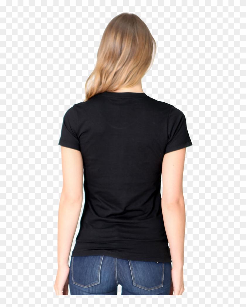 Women T Shirt Back Png Clipart #3131205