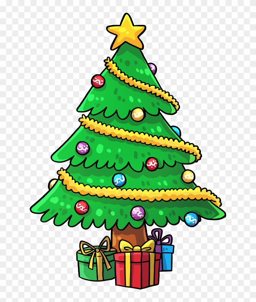 Good Cartoon Pictures Of Christmas Trees Clip Art Clipart X Mas Tree Clipart Png Download 3135077 Pikpng