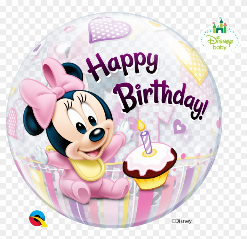 Baby Minnie Mouse Balloon Clipart #3136956