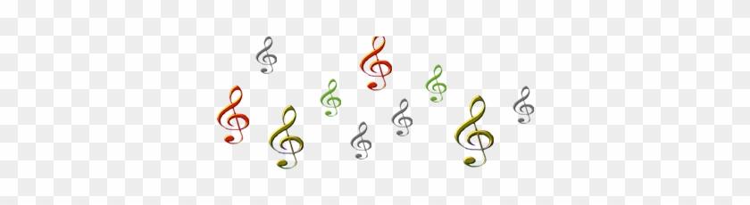 Music Symbols - Circle Clipart #3158617