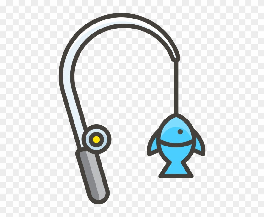 Download Fishing Pole Emoji Icon Clipart 3159598 Pikpng