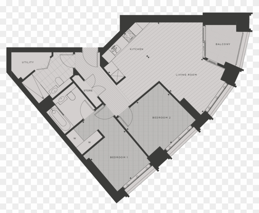 Approximate Measurements Only, They Are Not Necessarily - Floor Plan Clipart #3159599