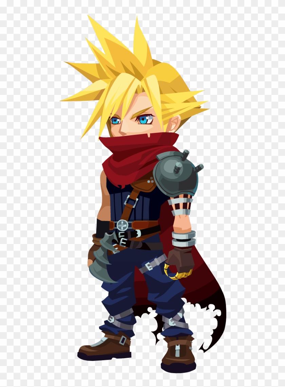 Cloud - Kingdom Hearts Union X Cloud Clipart #3170923