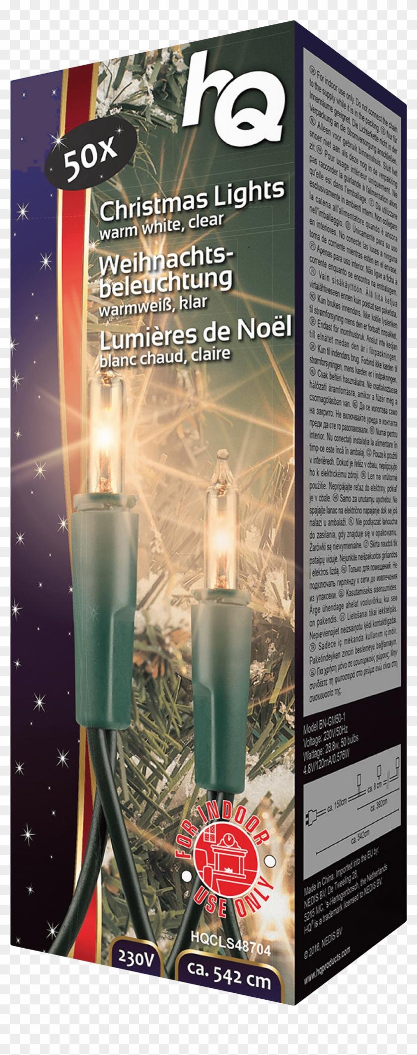 Christmas Light 50 Incandescent Hq Hqcls48704 - Incandescent Light Bulb Clipart #3183098