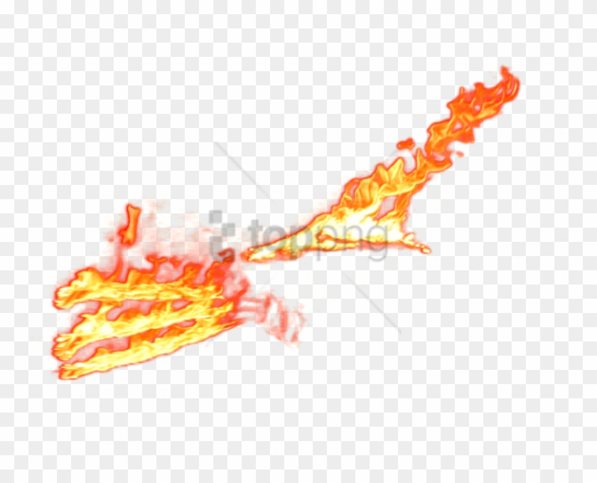 Free Png Fire Effect Photoshop Png Png Image With Transparent - Fire Slash Effect Png Clipart #3184600