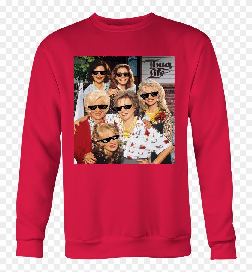 Steel Magnolias Thug Life Holiday Special Sweatshirt - Steel Magnolias Movie Poster Clipart #3185347