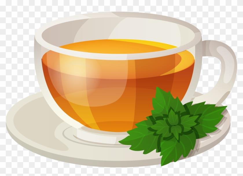Tea Cup Clip Art - Transparent Green Tea Clip Art - Png Download@pikpng.com