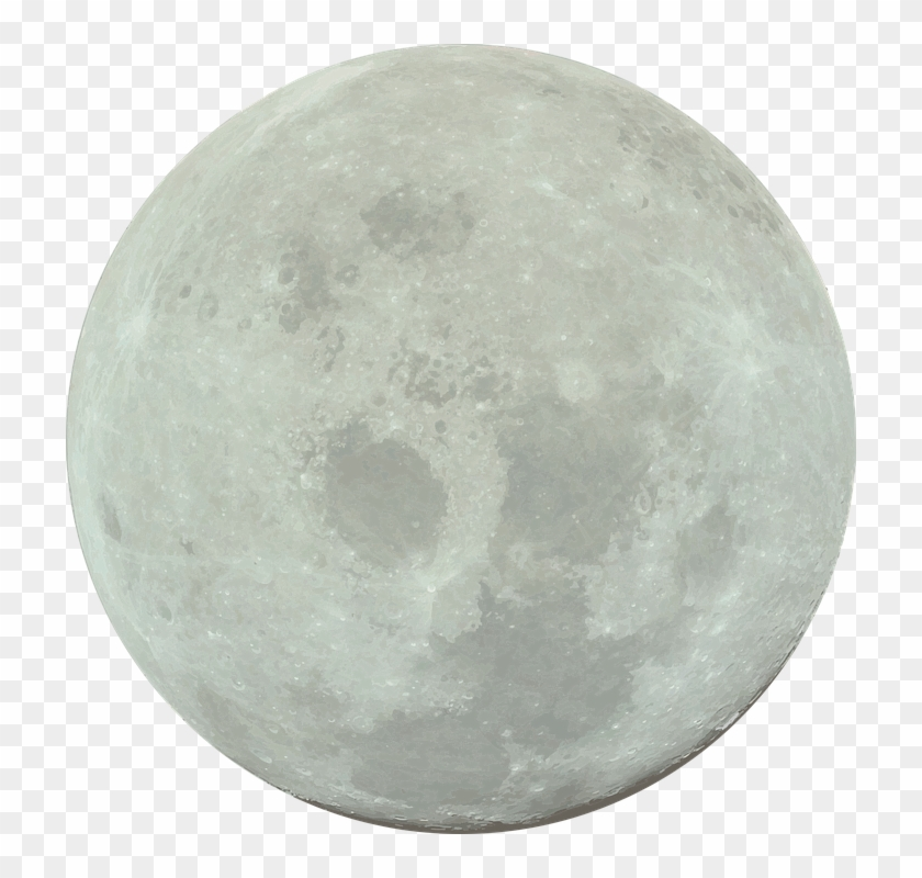 Full Moon Png - Full Moon With Transparent Background Clipart #320498
