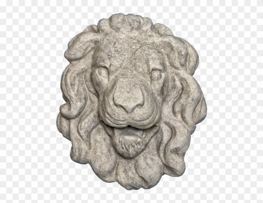 Lion Head 3 Gray Color Smooth Texture Web Version - Masai Lion Clipart #320801