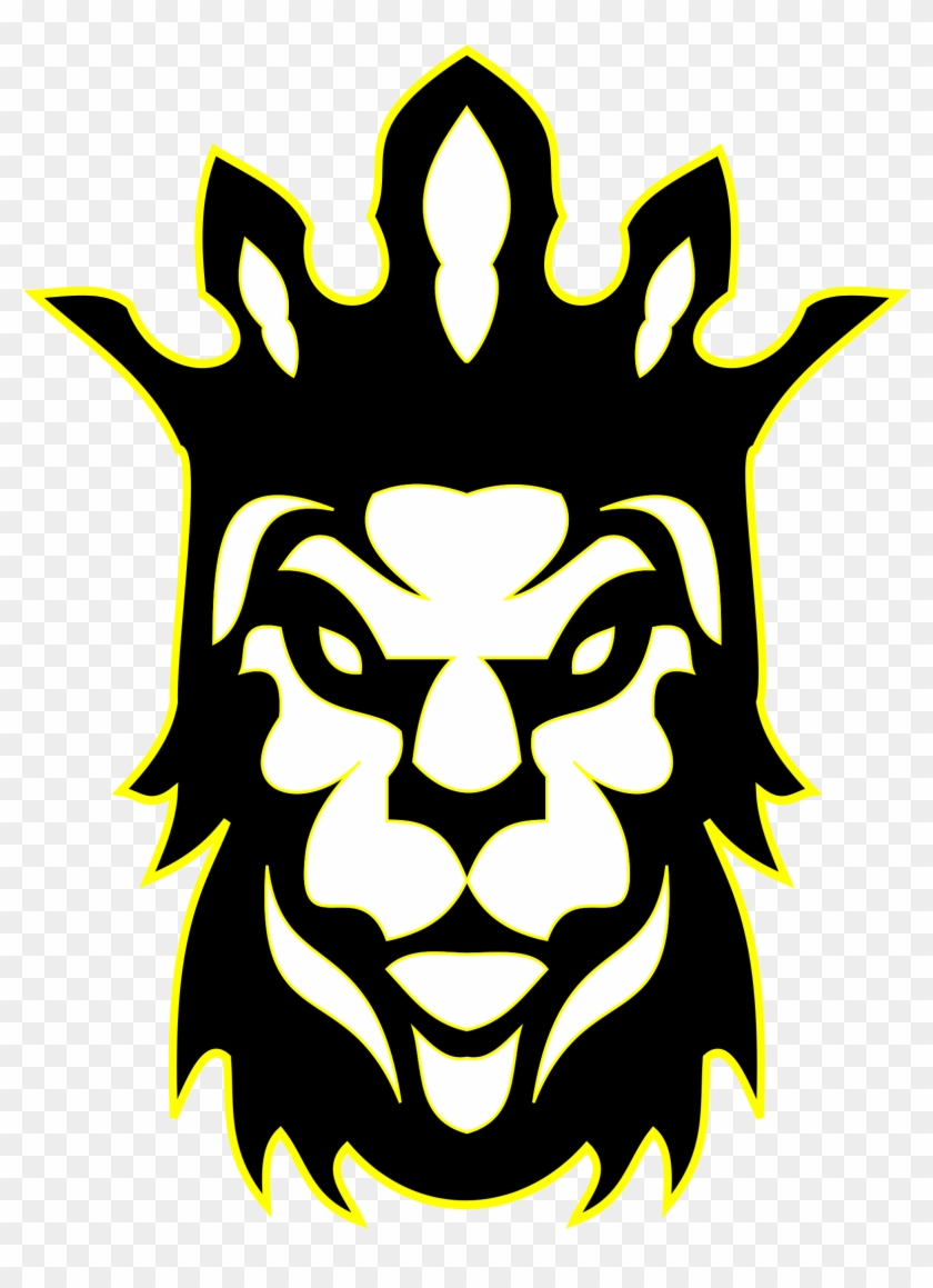 Lion Head With Crown Clipart - King Png Transparent Png #321242