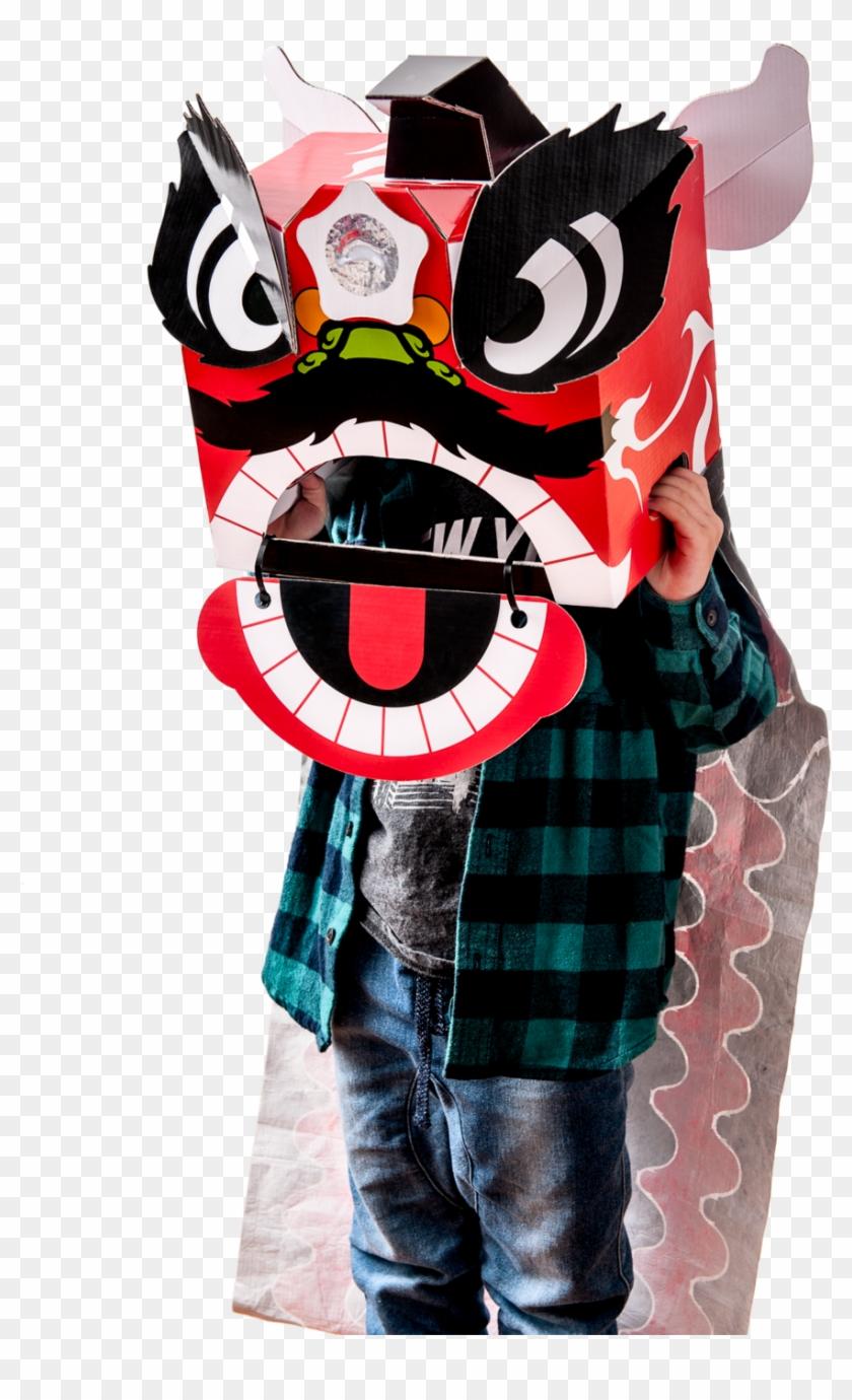 Diy Lion Dance Head Clipart #321674