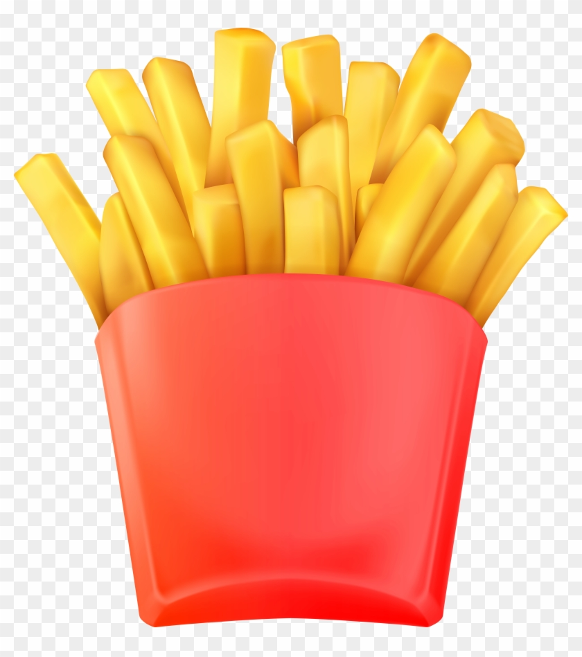 French Fries Transparent Clip Art Png Image #322386