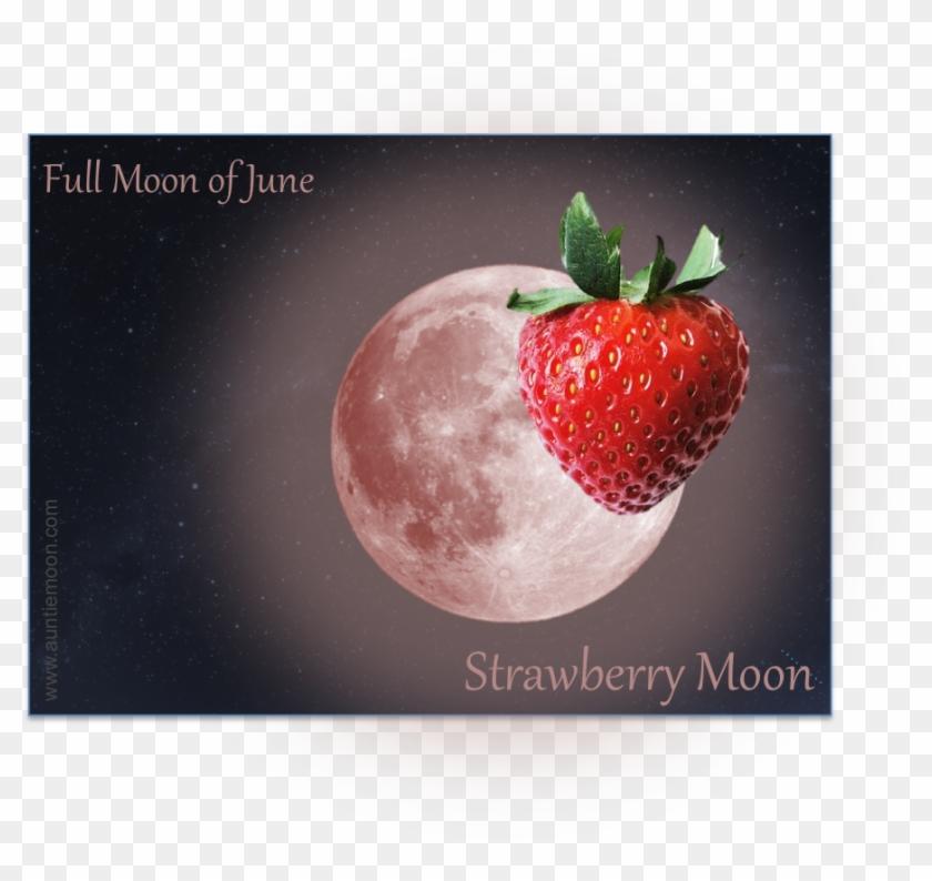 Full Moon In Sagittarius - Strawberry Full Moon Clipart #322620