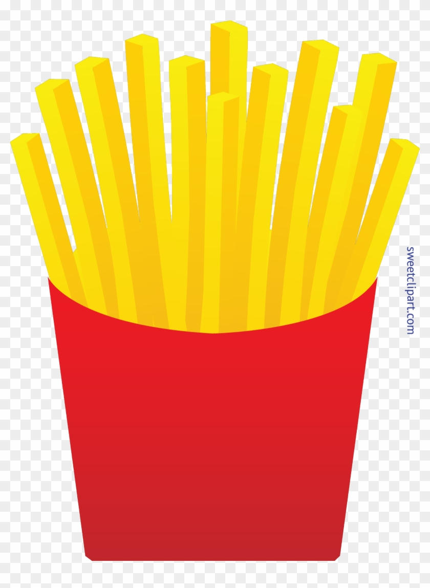 French Fries Clip Art - Fries Clipart - Png Download #322680