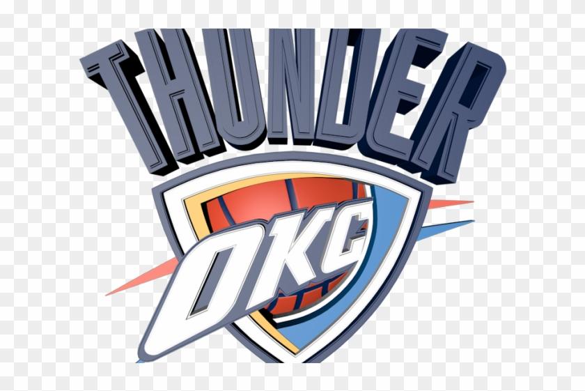 Oklahoma City Thunder Png Transparent Images - Okc Thunder Logo Clipart #324101