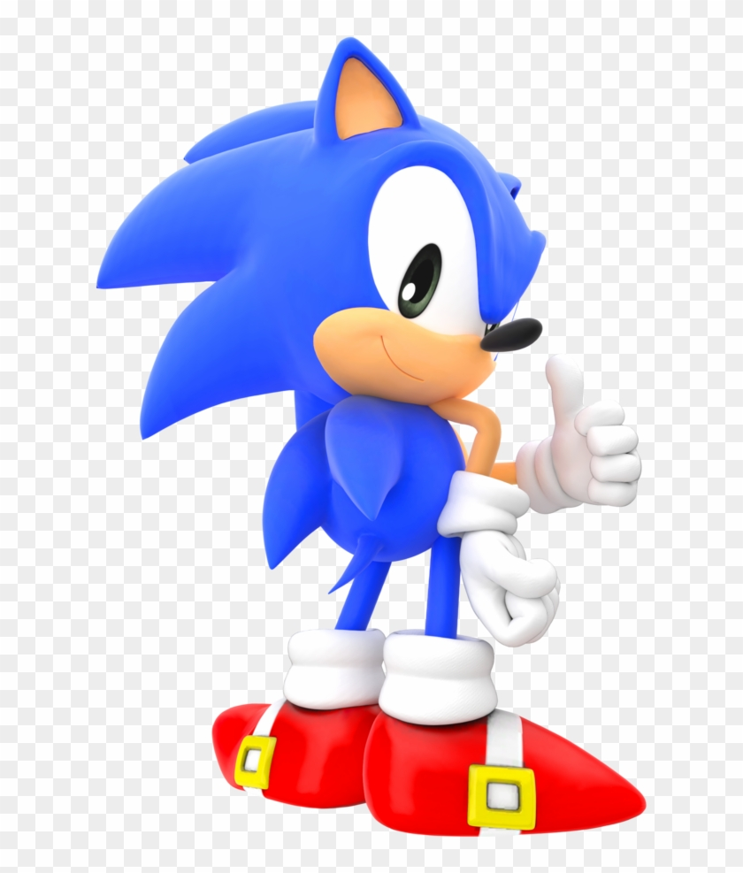 Classic Sonic The Hedgehog Png Classic Sonic Poses Clipart 324168 Pikpng
