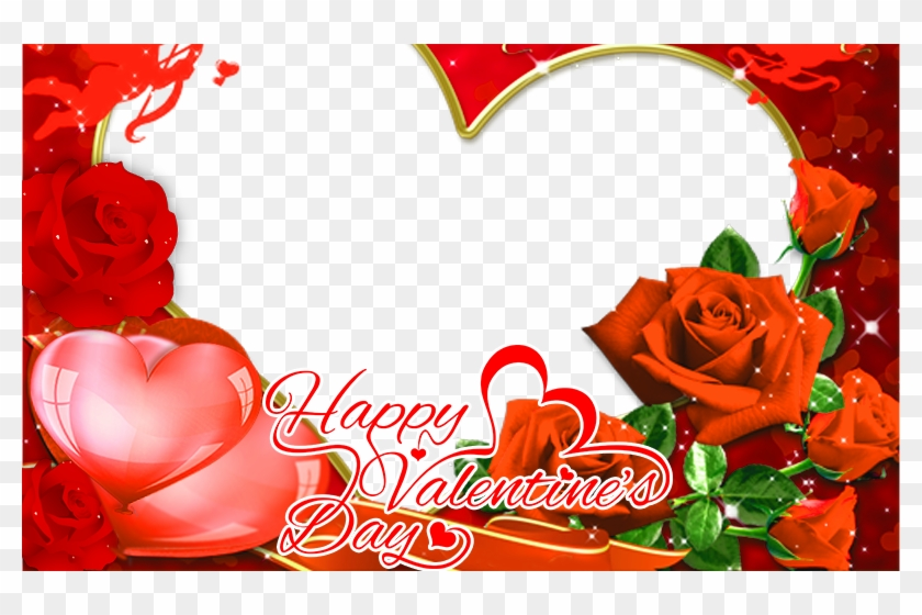 Valentines Day Frame Png Picture - Valentines Day Photo Frame Clipart #327541