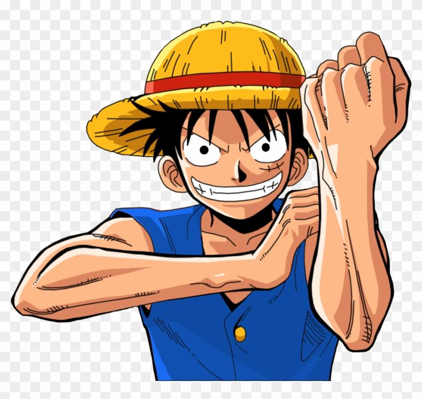 Download Piratas Es La - One Piece Luffy Fuck Clipart Png