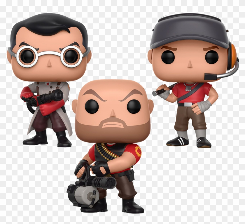 Tf2 Transparent Pop Funko Pop Team Fortress 2 Clipart 3203049