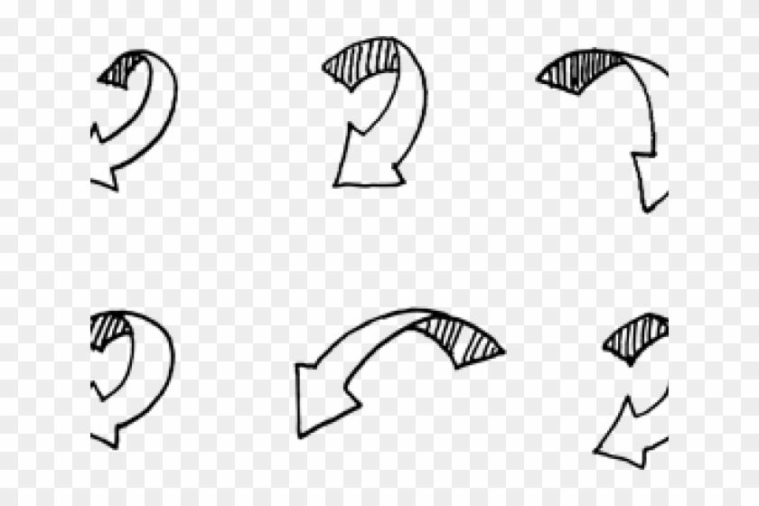 Drawn Arrow - Sketch Clipart #3207146