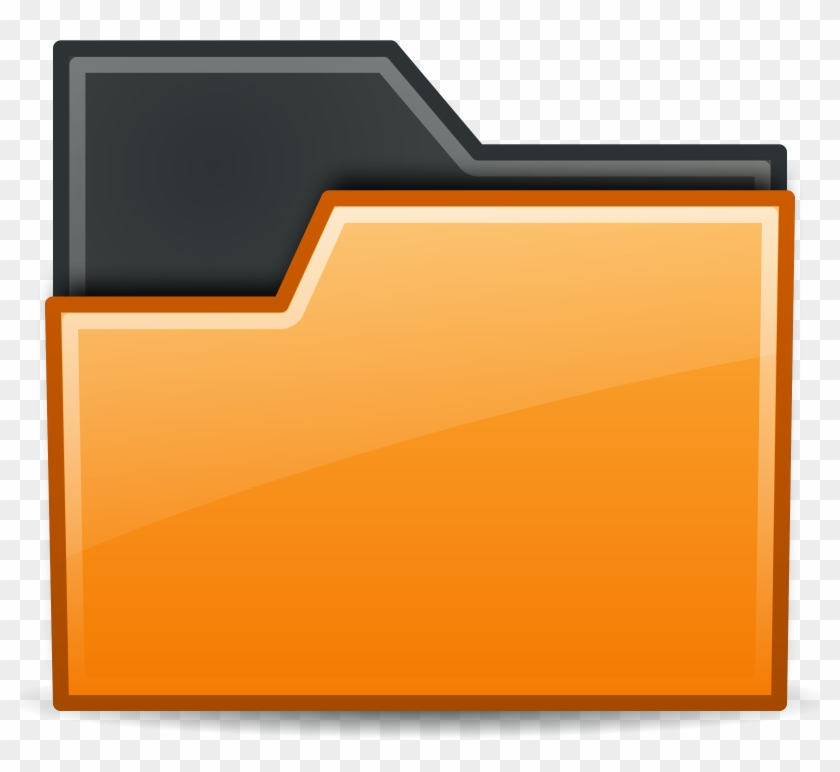 This Free Icons Png Design Of Folder Orange - Directory Clipart #3210305