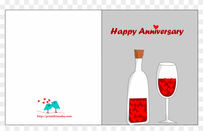 It's just a picture of Happy Anniversary Card Printable pertaining to wife