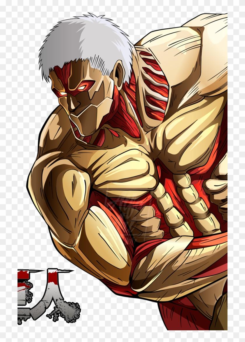 Anime Attack On Titan Mobile Wallpaper Titan Acorazado Para