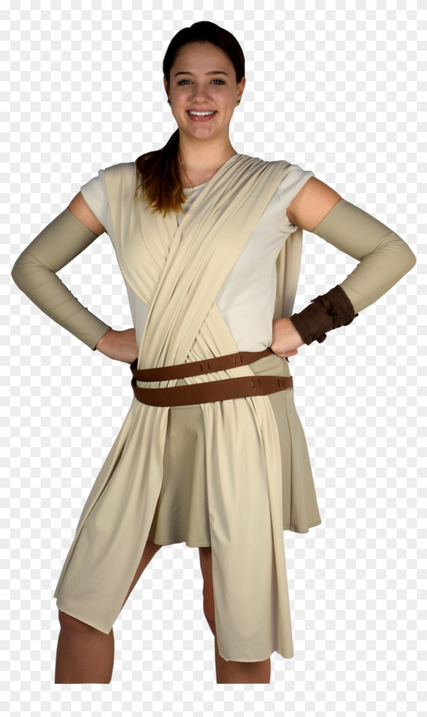 The Perfect Rey From Star Wars Running Costume , But - Rey Running Costume Clipart #3232797