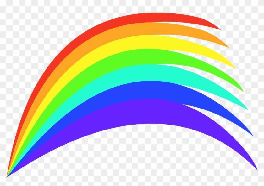 Rainbow Colours Colourful Paints Png Image - Rainbow Clipart Transparent Png #3234133