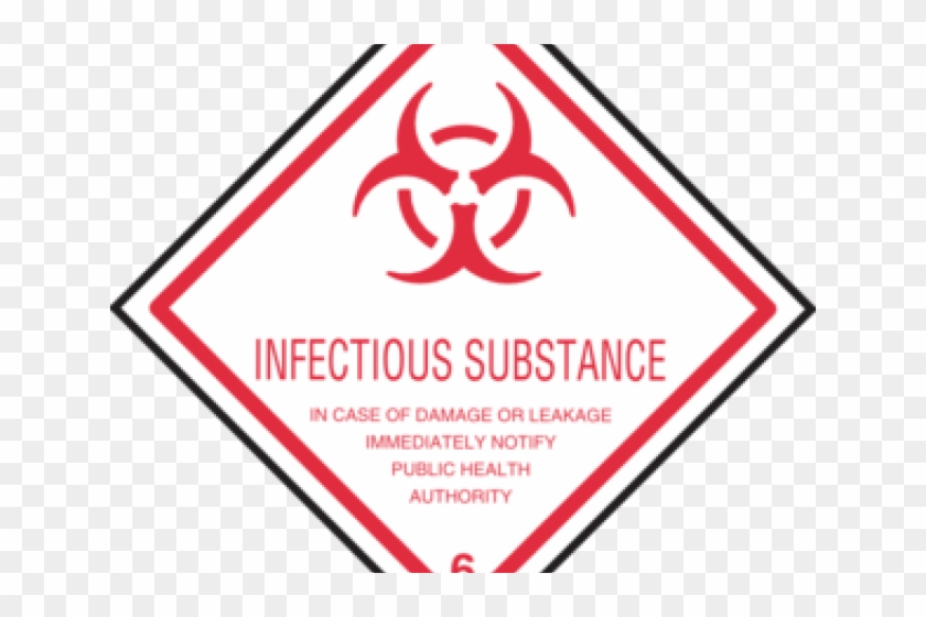 Biohazard Symbol Clipart Infectious Substance - Infectious Substance - Png Download #3236421