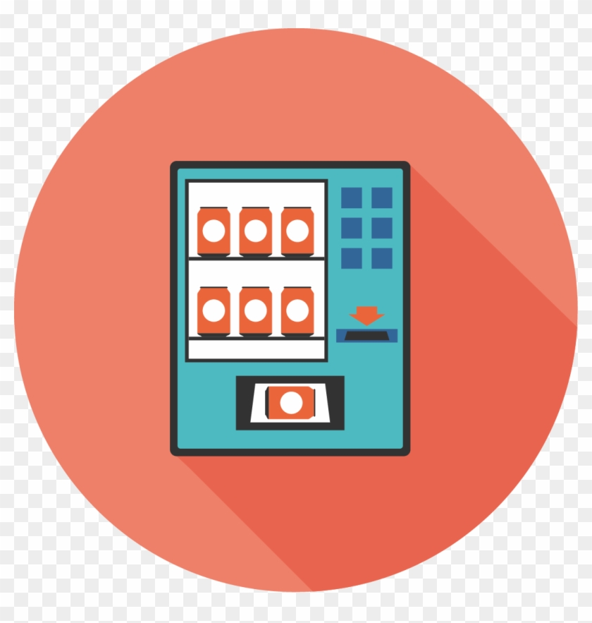 Buy It Supplies From Vending Machines - Circle Clipart #3236860