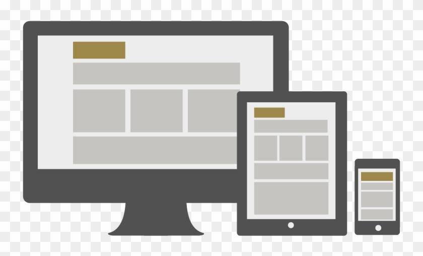 Svg Websites Responsive - Responsive Web Design Clipart #3237168