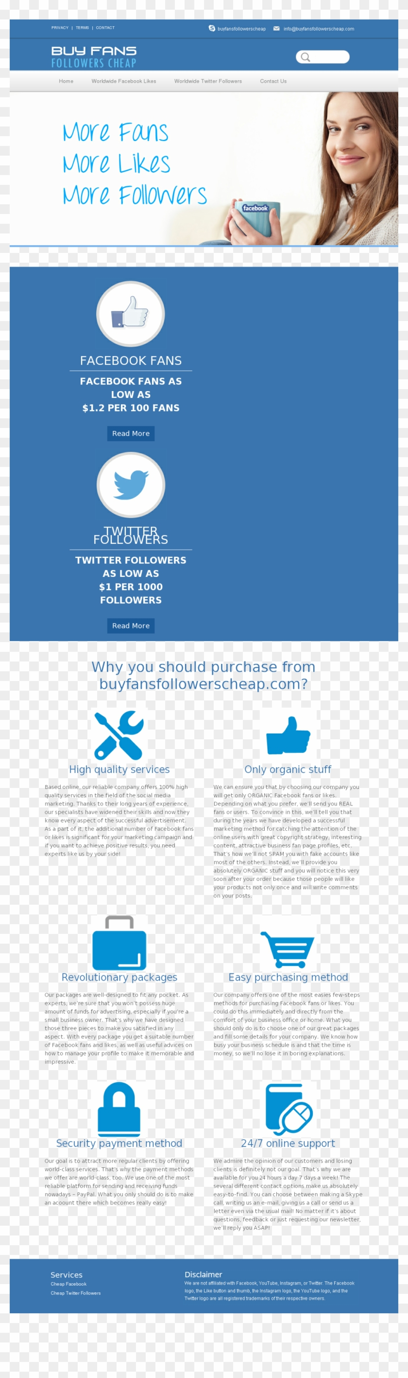 Buy Fans Followers Cheap Competitors, Revenue And Employees - Online Advertising Clipart #3238498