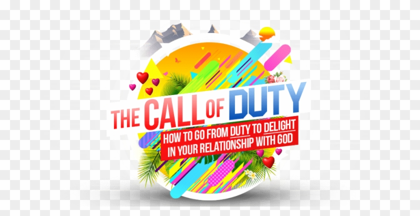 Call Of Duty Banner Front - Graphic Design Clipart #3243949