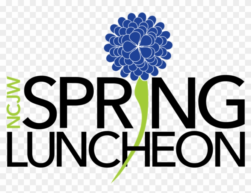 Ncjw Spring Luncheon - Graphic Design Clipart (#3247230 ...