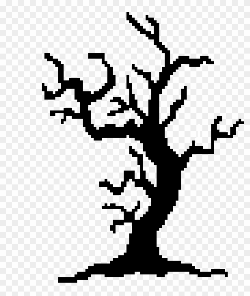 Spooky Trees Clipart , Png Download - Spooky Tree Shape Transparent Png #3248266