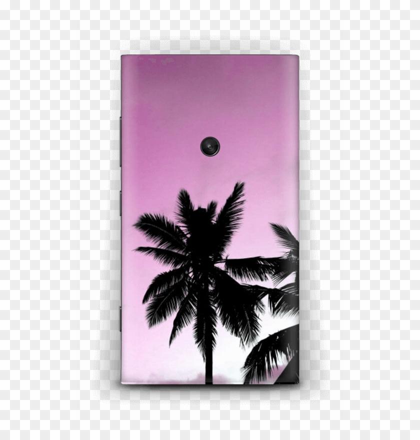 Pink Palm Tree Skin Nokia Lumia - Palm Trees Clipart #3248758