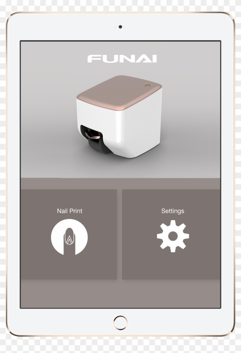 The Nail Art Printer And Smartphone App Will Be On - Water Cooler Clipart #3248877