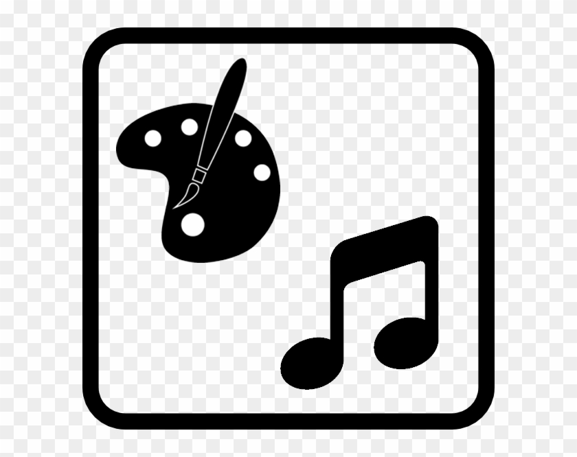 Art And Music Icon Clipart #3250835