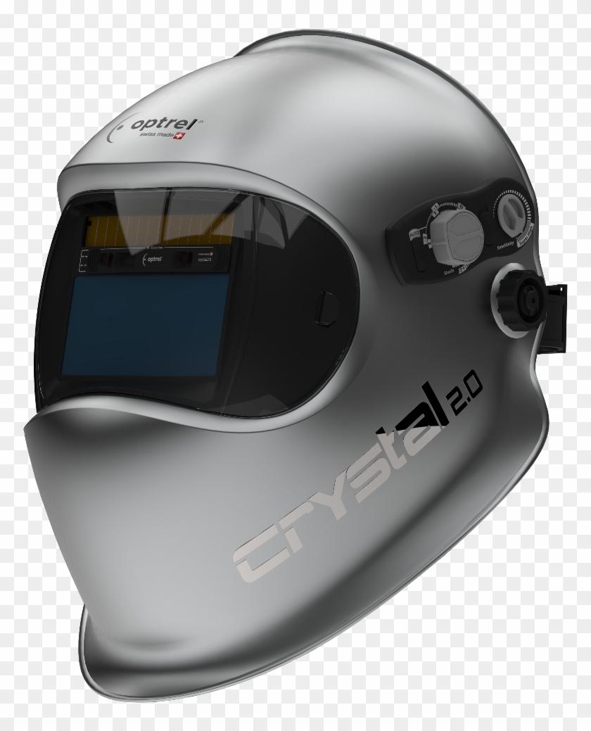 Optrel Crystal Crystal 2 0 Welding Helmet Clipart 3255306 Pikpng