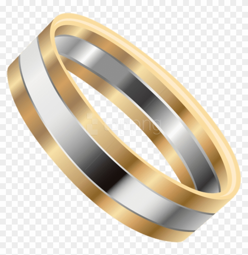 Wedding Rings Clipart.Free Png Download Gold Silver Wedding Ring Clipart Bangle