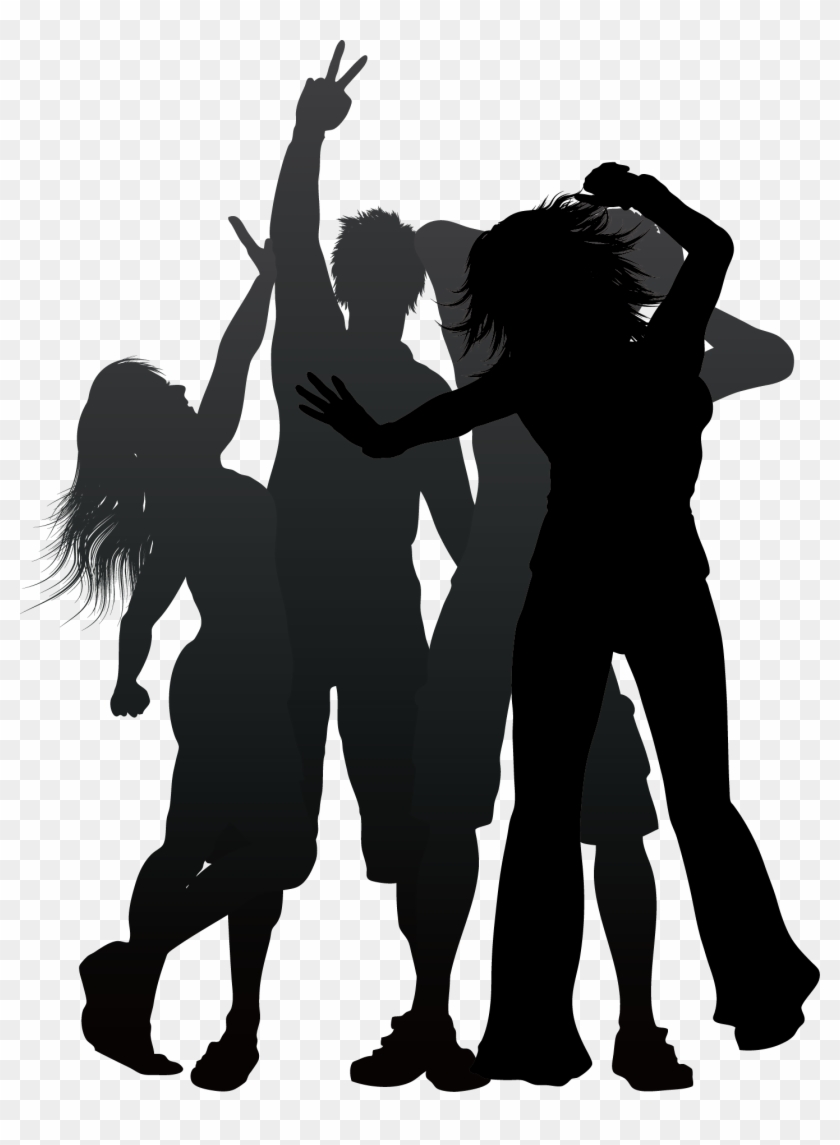 Nightclub People Dancing Png Party People Background Clipart 3257928 Pikpng