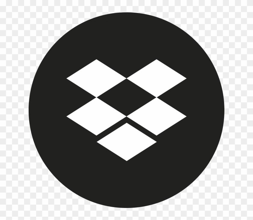 Social Media Icon - Dropbox Logo Clipart #3259885