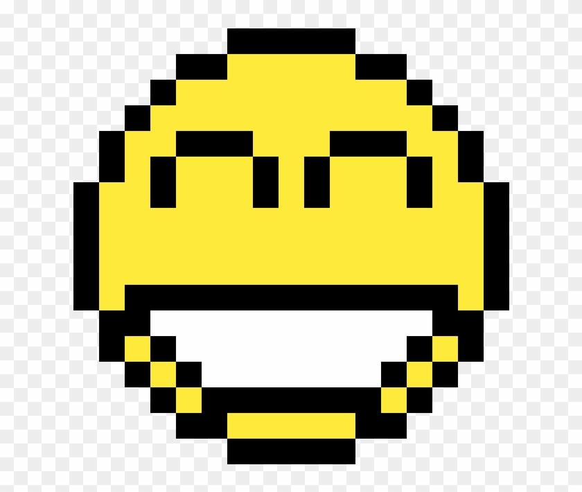 Super Happy Face Happy Face Pixel Art Hd Png Download