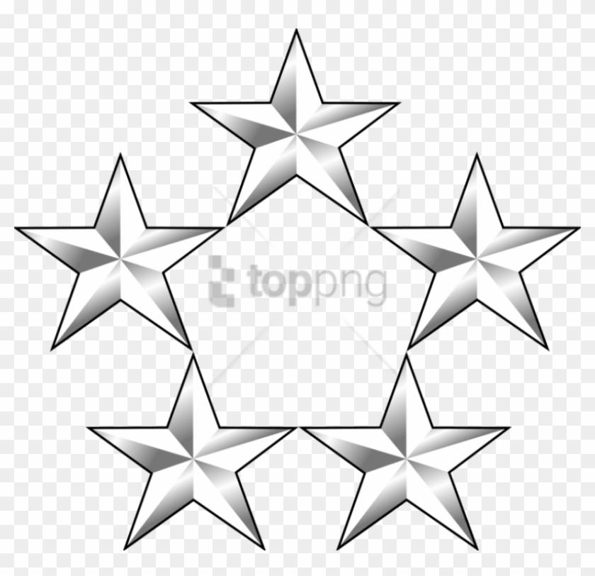 Free Png 5 Gold Star Png Png Image With Transparent - Santiago Bernabéu Stadium Clipart #3262404