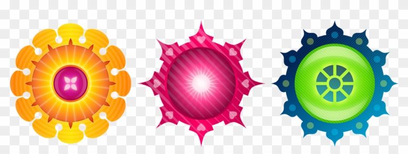 Circles Round Pattern Shapes Png Image - Vector Circle Design Png Clipart #3267336